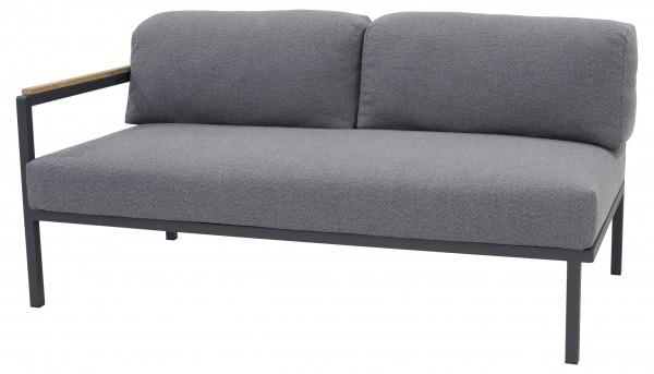 Zebra Hudson Lounge Sofa 2-Sitzer, Armlehne links