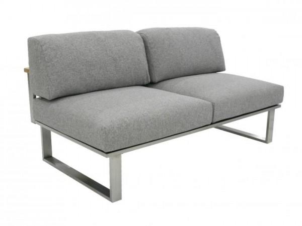 Zebra Belvedere Lounge 2er Polypropylen, Mitte inkl. Polster - Modell 2017