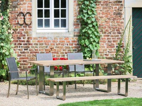 Niehoff Gartenmöbel Sitzgruppe Solid-Tina 1